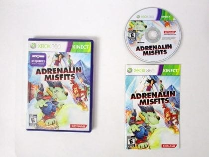 Adrenalin Misfits game for Microsoft Xbox 360 -Complete