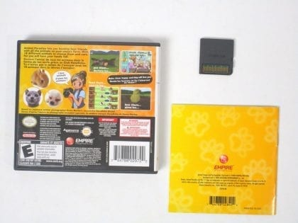 Animal Paradise game for Nintendo DS (Complete) | The Game Guy