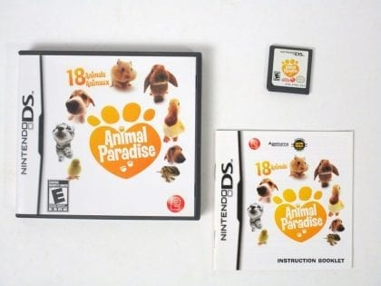 Animal Paradise game for Nintendo DS -Complete