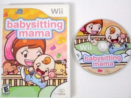 Babysitting Mama game for Nintendo Wii -Game & Case