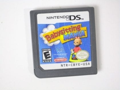 Babysitting Mania game for Nintendo DS - Loose