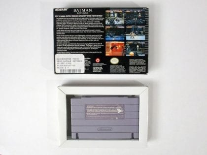 Batman Returns game for Super Nintendo | The Game Guy