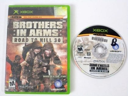 Brothers in Arms Road to Hill 30 game for Microsoft Xbox -Game & Case