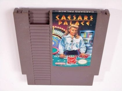 Caesar's Palace game for Nintendo NES - Loose