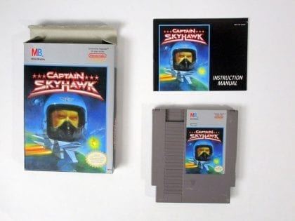 Captain Skyhawk game for Nintendo NES -Complete