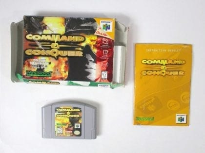 Command and Conquer game for Nintendo 64 N64 -Complete