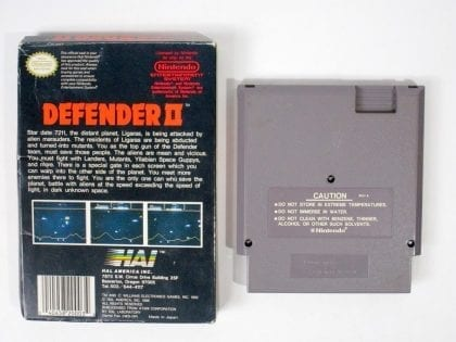 Defender II game for NES | The Game Guy