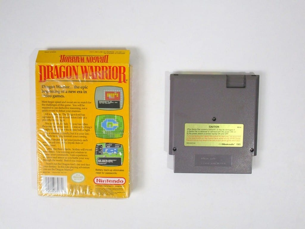 Dragon Warrior game for NES | The Game Guy