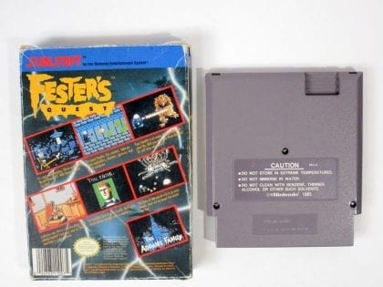 Fester's Quest game for NES | The Game Guy