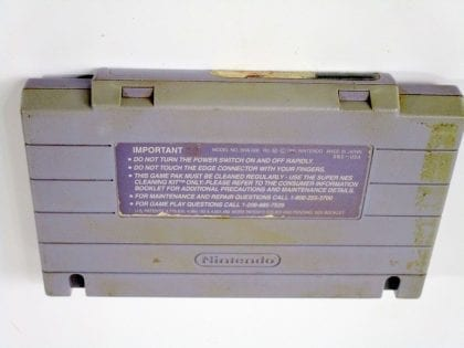 Hyperzone game for Super Nintendo (Loose) | The Game Guy