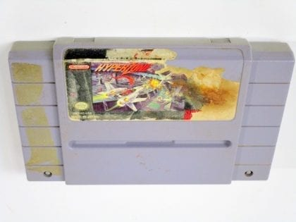 Hyperzone game for Super Nintendo SNES - Loose