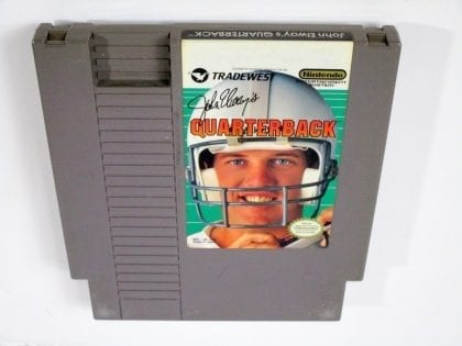 John Elway's Quarterback game for Nintendo NES - Loose