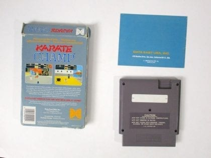 Karate Champ game for NES (Complete) | The Game Guy