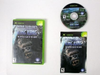 King Kong the Movie game for Microsoft Xbox -Complete