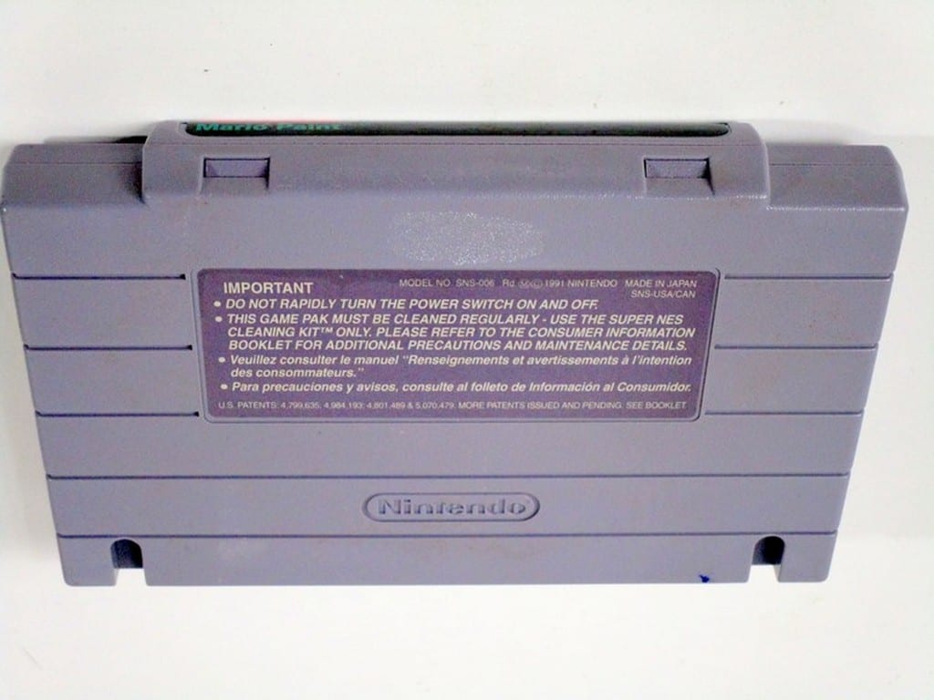 Mario Paint game for Super Nintendo (Loose) | The Game Guy