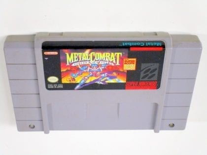 Metal Combat game for Super Nintendo SNES - Loose