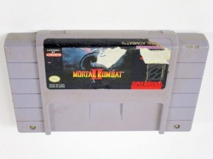Mortal Kombat II game for Super Nintendo SNES - Loose