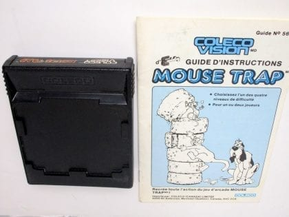 Mouse Trap game for Colecovision (Loose) | The Game Guy