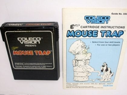Mouse Trap game for Colecovision - Loose
