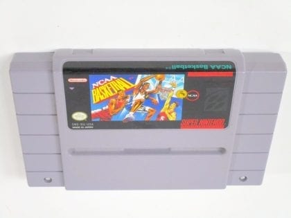 NCAA Basketball game for Super Nintendo SNES - Loose