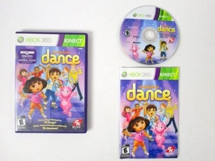 Nickelodeon Dance game for Microsoft Xbox 360 -Complete