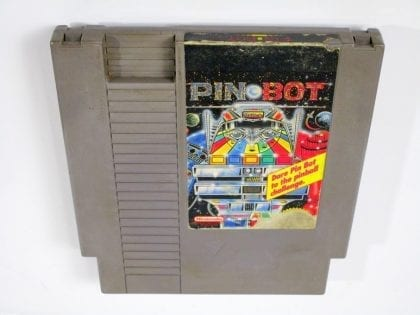 Pin-Bot game for Nintendo NES - Loose