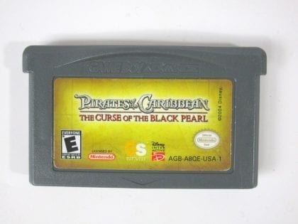 Pirates of the Caribbean game for Nintendo Gameboy Advance - Loose
