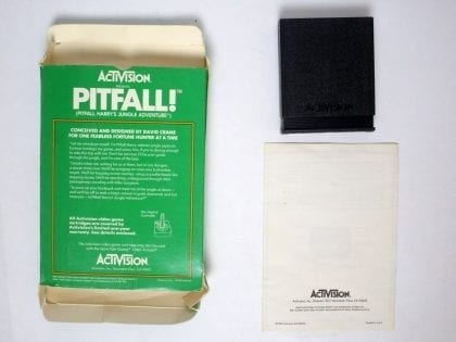 Pitfall game for Atari 5200 (Complete) | The Game Guy