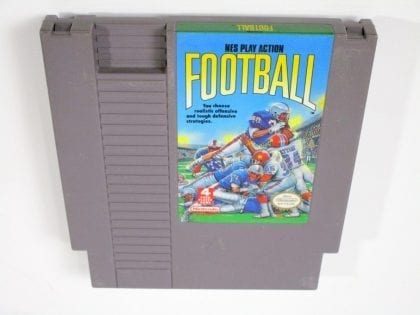 Play Action Football game for Nintendo GameBoy - Loose