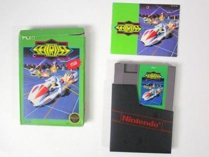 Seicross game for Nintendo NES -Complete