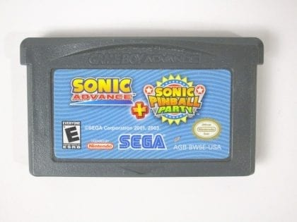 Sonic Advance & Sonic Pinball Party game for Nintendo Gameboy Advance - Loose