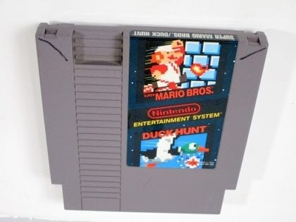 Super Mario Bros and Duck Hunt game for Nintendo NES - Loose