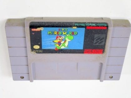Super Mario World game for Super Nintendo SNES - Loose