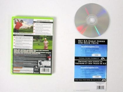 Tiger Woods PGA Tour 08 game for Xbox 360 (Complete) | The Game Guy