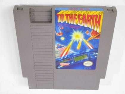 To the Earth game for Nintendo NES - Loose