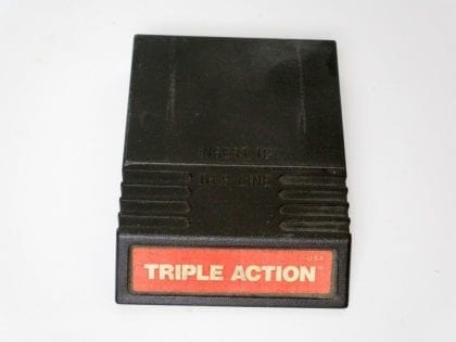 Triple Action game for Intellivision - Loose