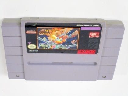 Wing Commander game for Super Nintendo SNES - Loose