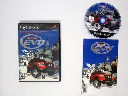 4x4 Evolution game for Sony Playstation 2 PS2 -Complete