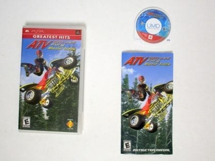 ATV Offroad Fury Blazing Trails game for Sony PSP -Complete
