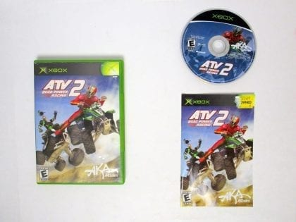 ATV Quad Power Racing 2 game for Microsoft Xbox -Complete