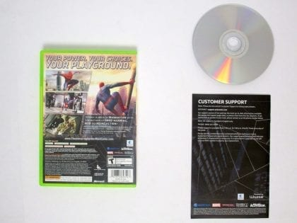Amazing Spiderman game for Xbox 360 (Complete) | The Game Guy