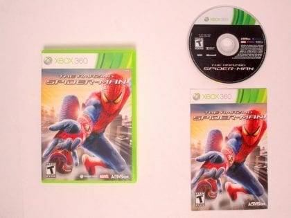Amazing Spiderman game for Microsoft Xbox 360 -Complete