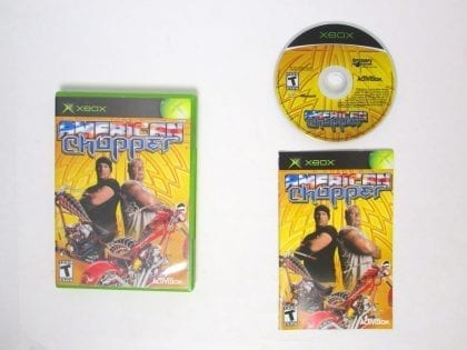 American Chopper game for Microsoft Xbox -Complete