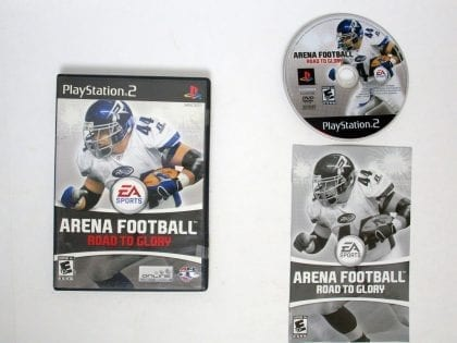 Arena Football Road to Glory game for Sony Playstation 2 PS2 -Complete