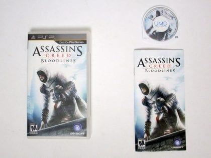 Assassin's Creed: Bloodlines game for Sony PSP -Complete