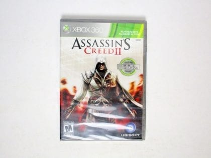 Assassin's Creed II game for Microsoft Xbox 360 - New
