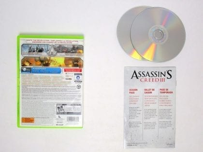 Assassin's Creed III game for Xbox 360 (Complete) | The Game Guy