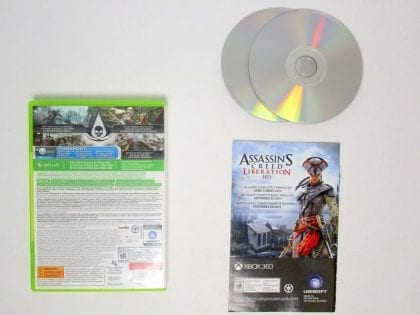 Assassin's Creed IV: Black Flag game for Xbox 360 (Complete) | The Game Guy