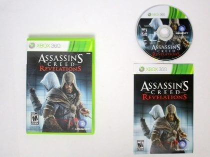 Assassins Creed Revelations game for Microsoft Xbox 360 -Complete