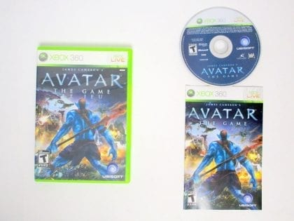 Avatar: The Game game for Microsoft Xbox 360 -Complete